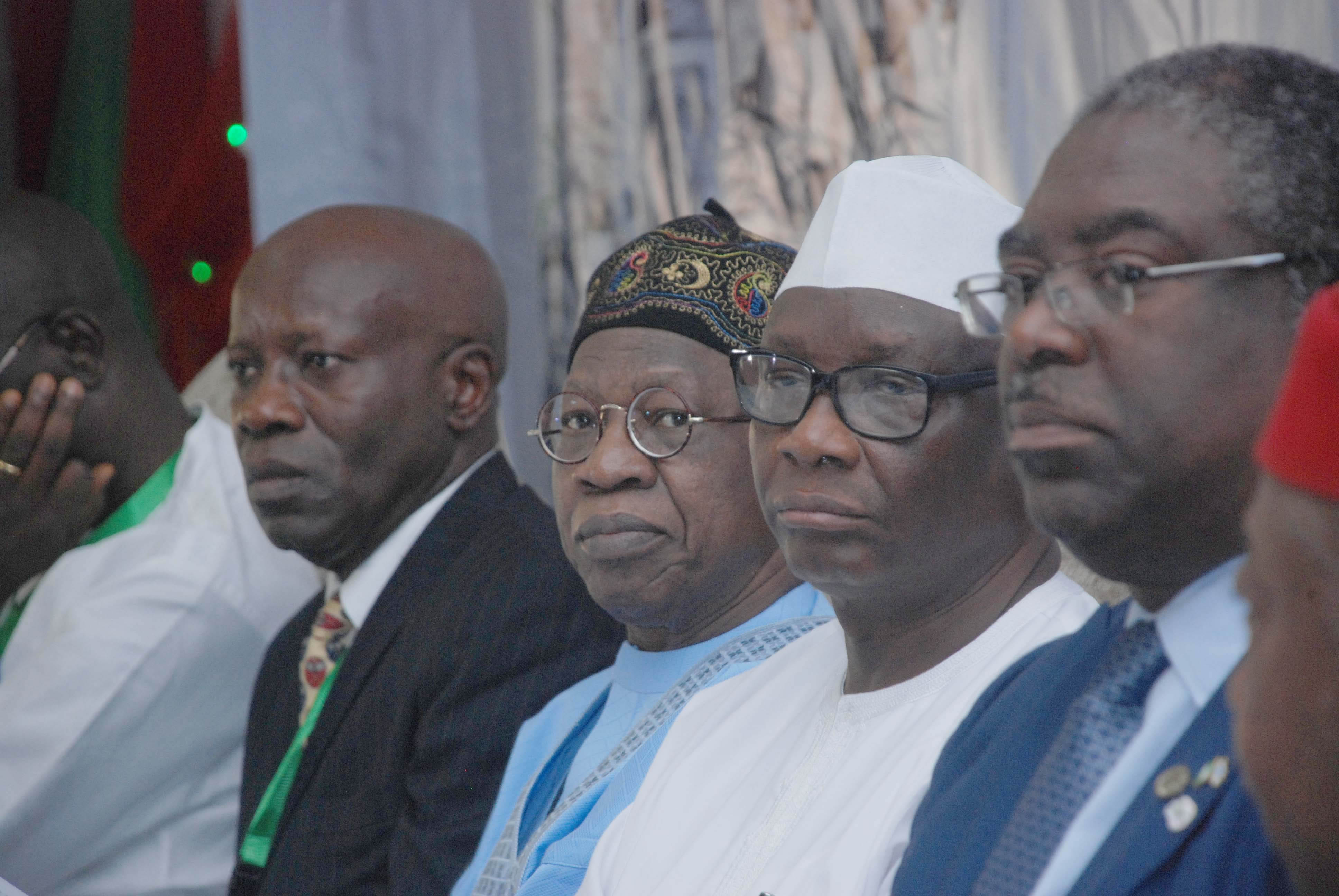 DG-NGF,Hon. Min. Information & Culture Alh. Lai Mohammed, Babatunde Fowler-Chairman,FIRS